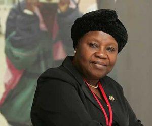 Aloma Mariam Mukhtar, la présidente de la Cour suprême du Nigeria.