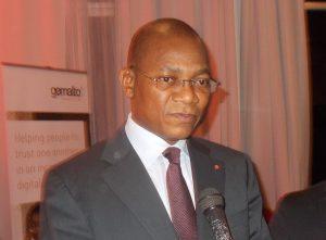 Bruno Nabagné Koné, ministre de la Poste et des Technologies de l'information et de la communication (Ptic) (Photo d'archive)