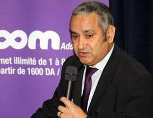 Azouaou Mehmel, Dg Algérie Telecom