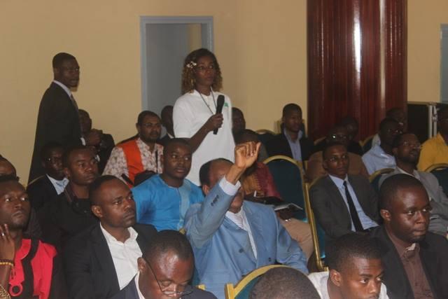 Les participants à la 4e édition de l'IT Forum Cameroun.